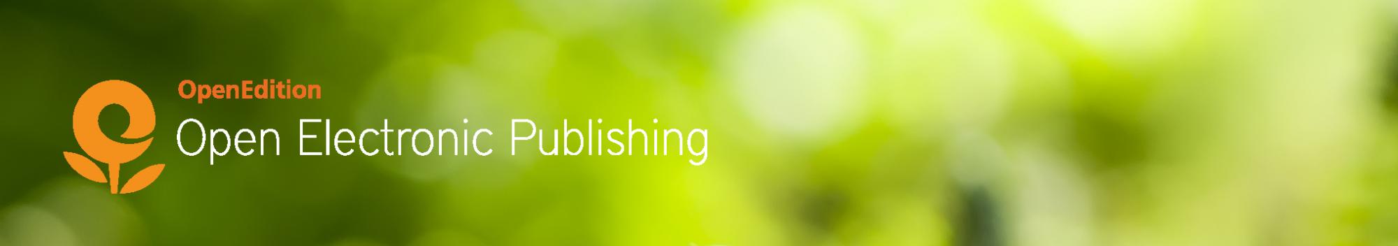 Open Electronic Publishing